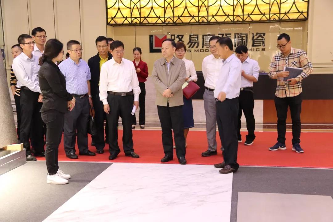 支持民企發展佛山在行動! 副市長趙海率隊調研建陶龍頭企業新明珠